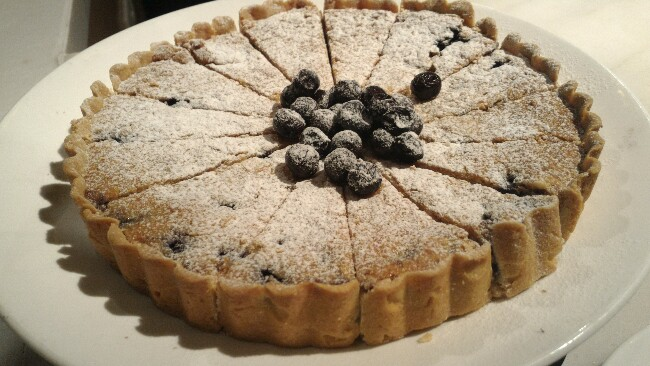 Neapolitan sweet  wheatberry and ricotta pie
