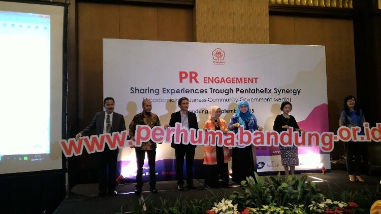 Peluncuran website Perhumas Bandung