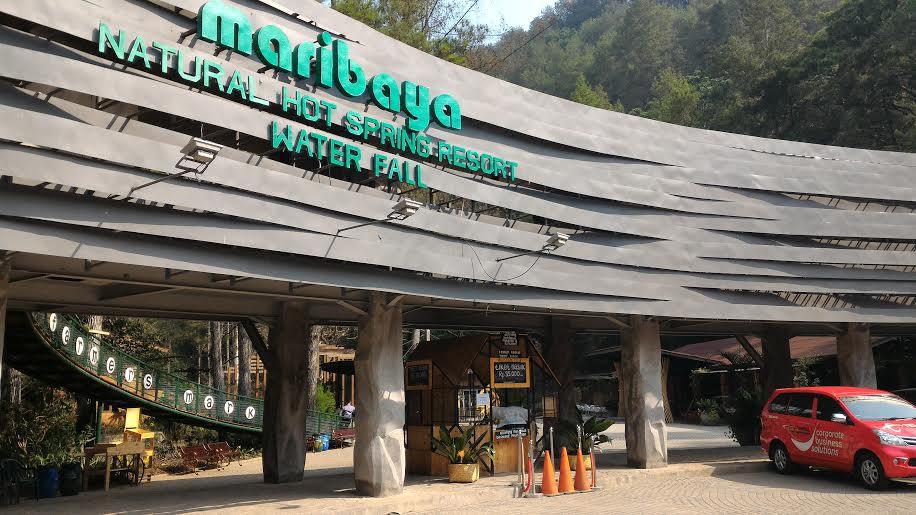 maribaya natural hot spring & waterfall