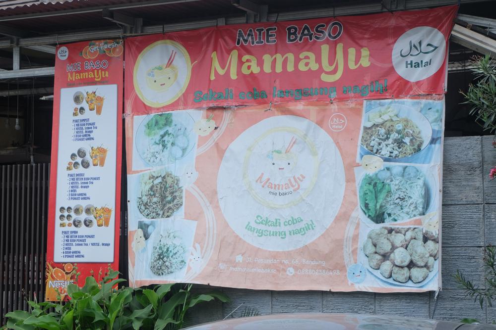 Mie Bakso Mamayu / Destinasi Bandung