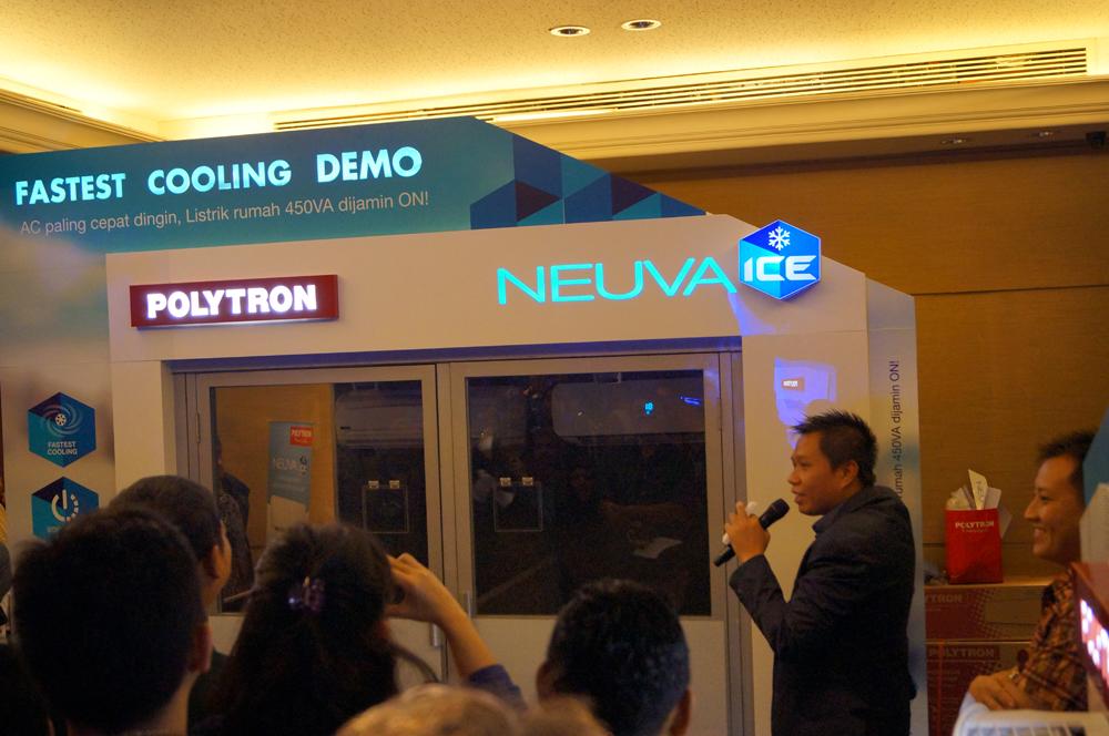 Peluncuran AC Polytron Neuva Ice / Destinasi Bandung