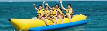 Banana boat di pandan sari watersport Tanjung Benoa Bali