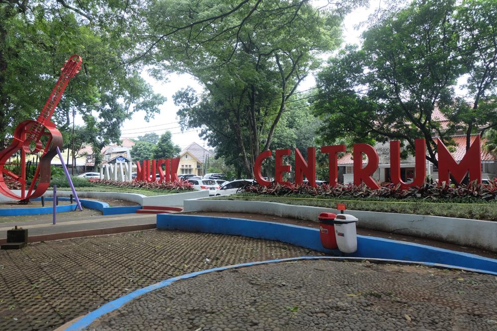 Taman musik centrum / Destinasi Bandung