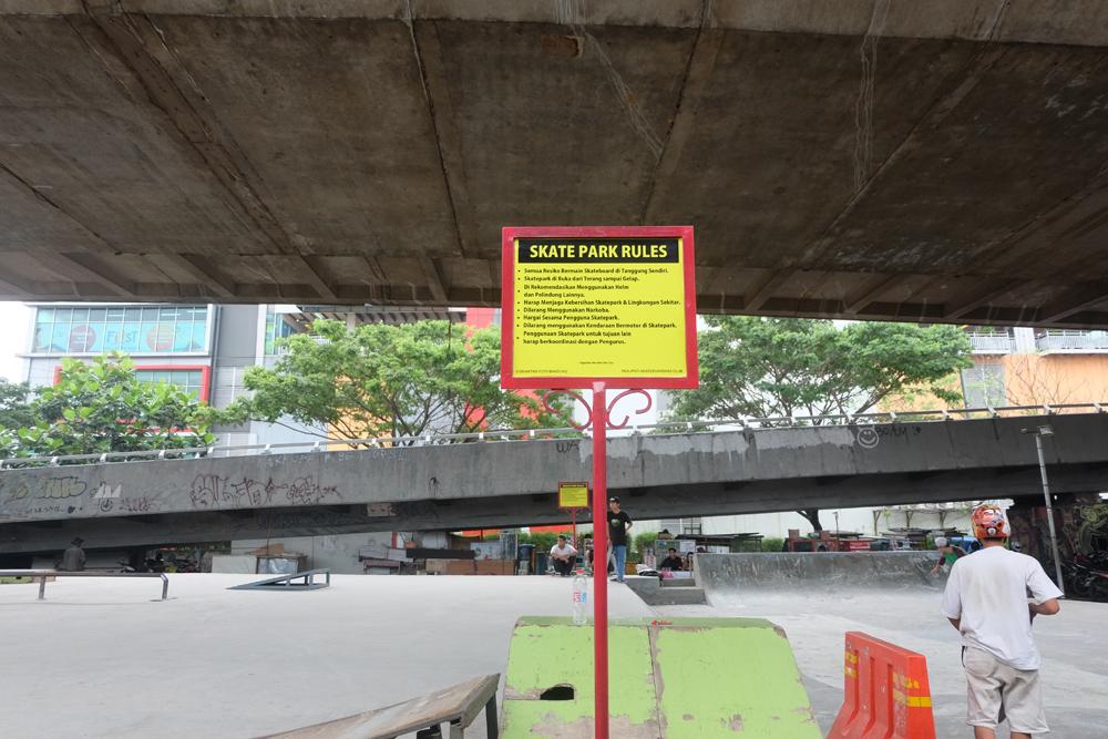 Taman Skateboard / Destinasi Bandung