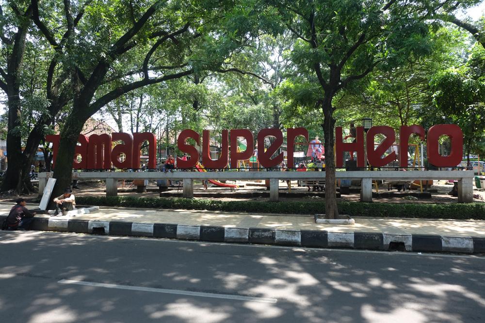 Taman Superhero / Destinasi Bandung