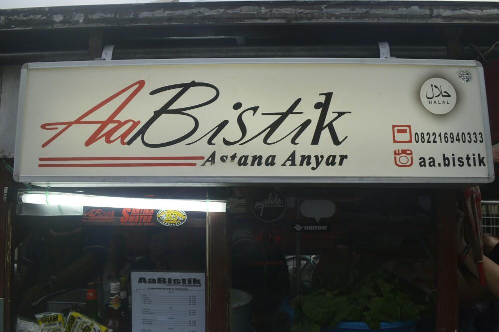 Nasi goreng Bistik AA / Destinasi Bandung