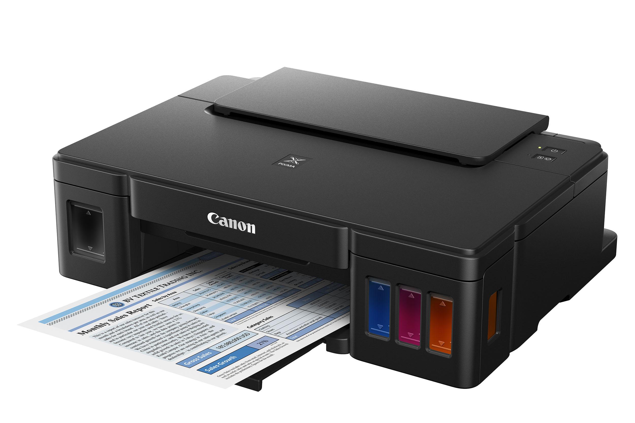 Peluncuran printer Canon Pixma G series