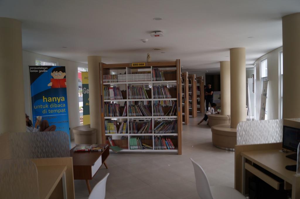 Perpustakaan Lapangan Gasibu / Destinasi Bandung