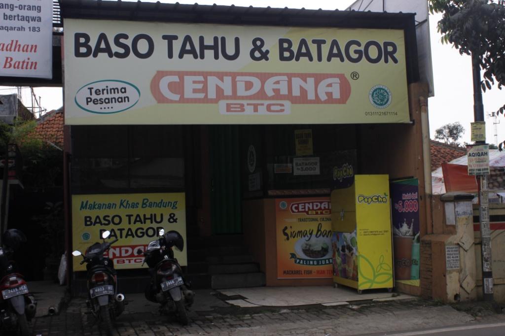Baso tahu cendana / Destinasi Bandung