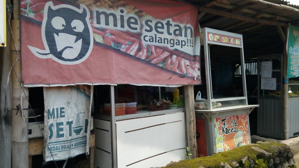 Mie setan / Destinasi Bandung