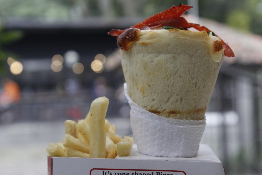 Cone Pizza / Destinasi Bandung