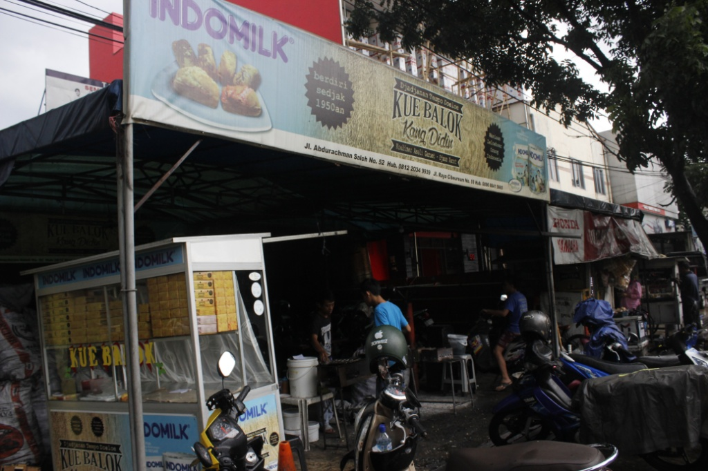 Kue balok Kang Didin / Destinasi Bandung