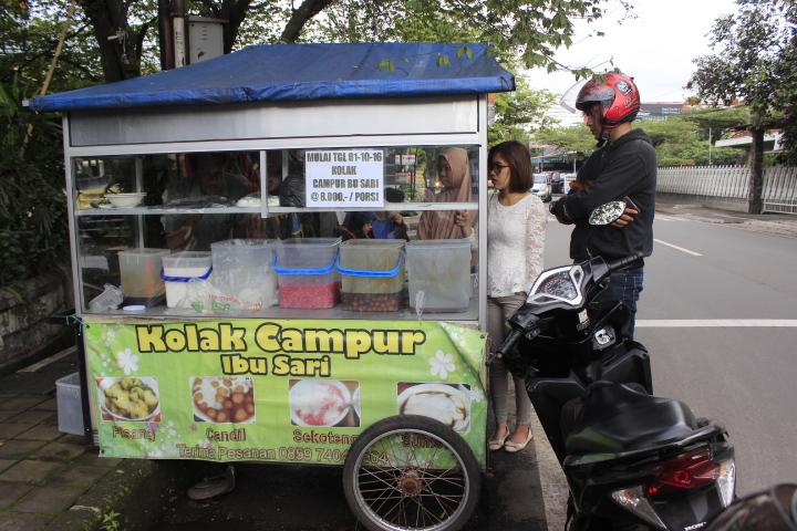 Kolak ibu sari / Destinasi Bandung