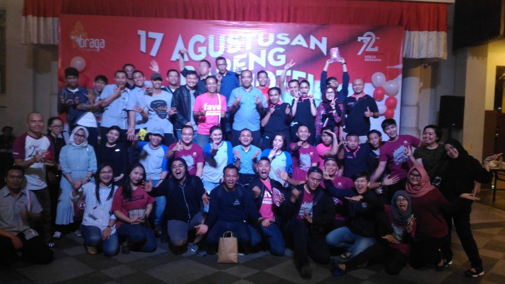 Keseruan Hut Ri Ke72 Archipelago International Di Braga