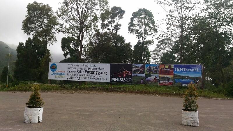 Glamping Lake Side / Destinasi Bandung