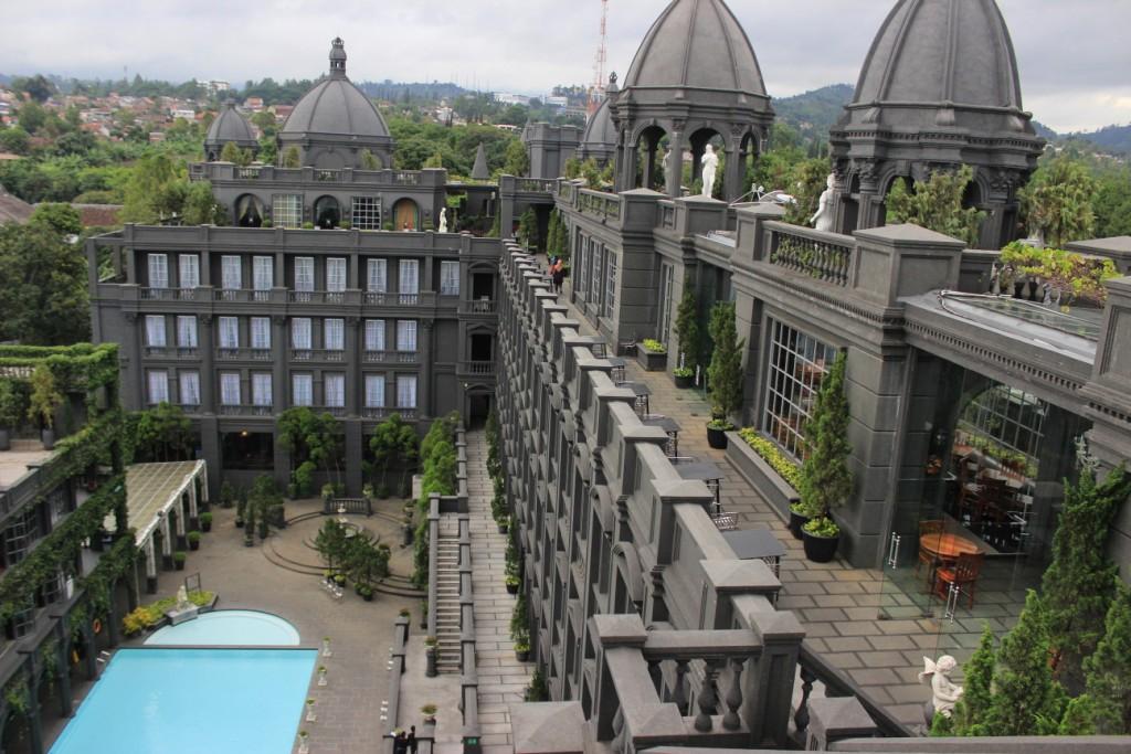 GH Universal Hotel, Hotel instagramable di Bandung mirip kastil
