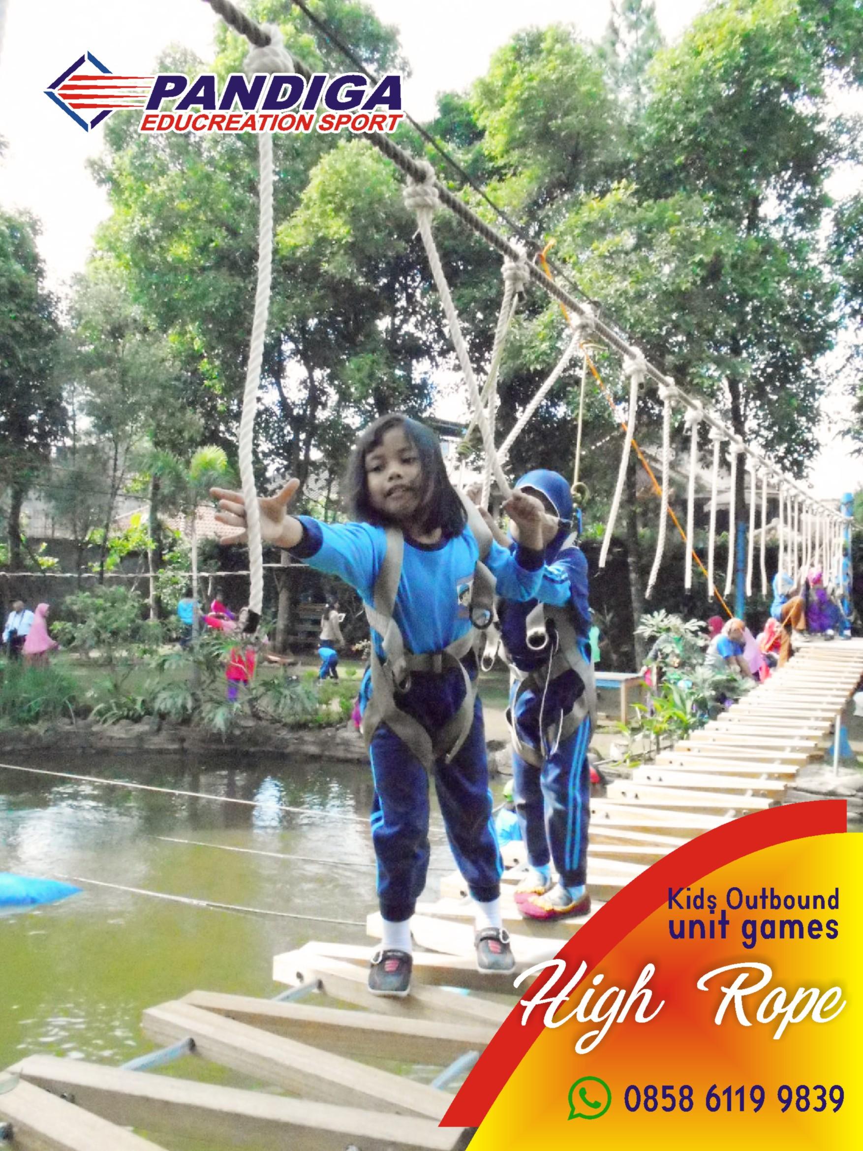 Pandiga Educreation Sport Wahana Wisata Keluarga Keren Di