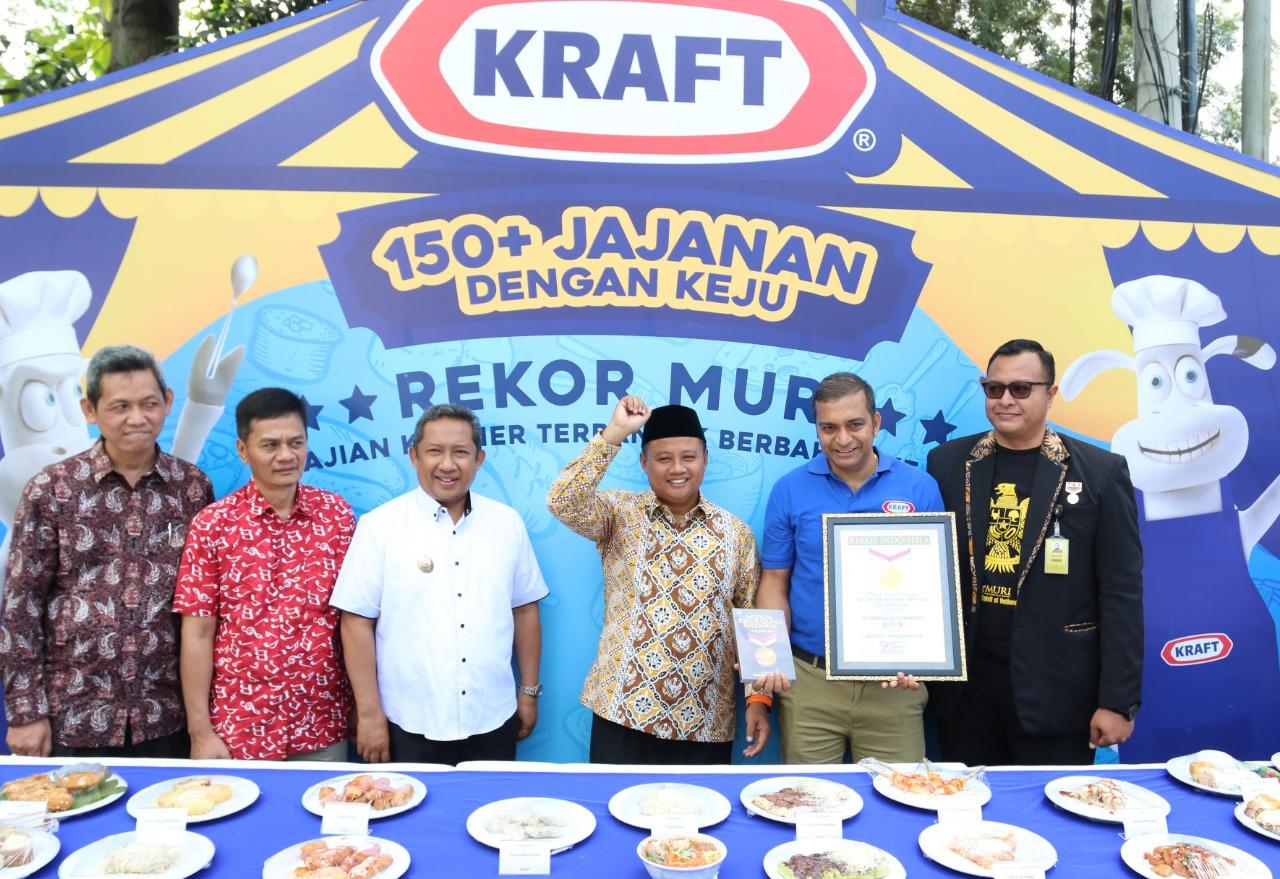 Festival Kuliner Kraft Padukan Kuliner Nusantara Dengan Keju